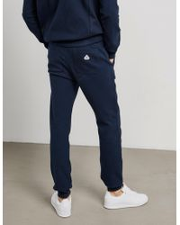 Pyrenex - Mens Alban Cuffed Track Trousers Navy/navy - Lyst