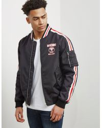 Moschino - Mens Milano Bomber Jacket - Online Exclusive Black - Lyst