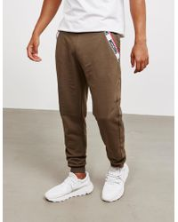 Moschino - Mens Tape Cuffed Track Trousers Green - Lyst