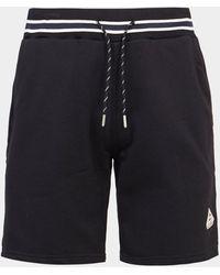 Pyrenex Mael Badge Shorts - Black
