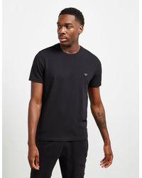 Emporio Armani Small Eagle Short Sleeve T-shirt Black