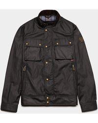 Belstaff Racemaster Wax Jacket - Black