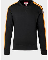 Parajumpers Armstrong Tape Sweatshirt Black