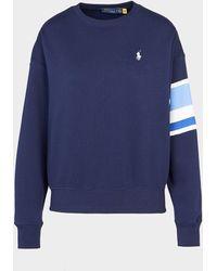 Polo Ralph Lauren Crew Sweatshirt Blue