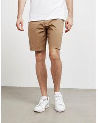 Michael Kors Tape Shoulder Short Sleeve Polo Shirt White