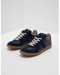 Maison Margiela Replica Sneakers Navy Blue