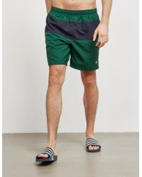 Fred Perry - Colour Block Swim Shorts - Lyst