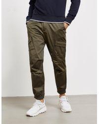 Armani Exchange Cuffed Cargo Pants Green
