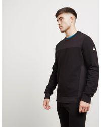 Pyrenex - Mens Hubert Crew Sweatshirt Black/black - Lyst