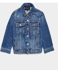 Emporio Armani Denim Jacket Blue