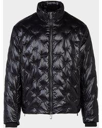 Emporio Armani Emboss Eagle Jacket - Black