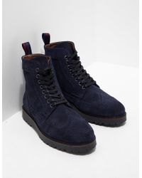 Fred Perry - Mens Northgate Boot Navy - Lyst