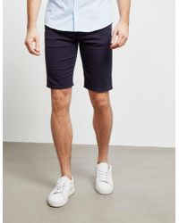 Emporio Armani Five Pocket Shorts Navy Blue