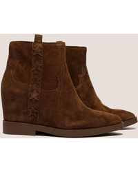 Ash - Womens Goldie Boot Brown - Lyst