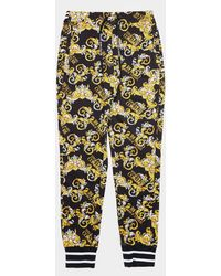Versace Jeans Couture Baroque Track Trousers - Black
