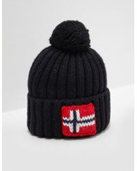 Napapijri Semiury Bobble Hat - Black