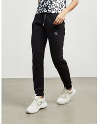 Calvin Klein Embroidered Joggers Black