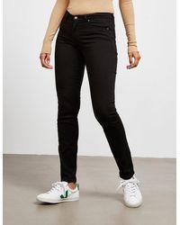BOSS by Hugo Boss J21 High Waist Jeans Black