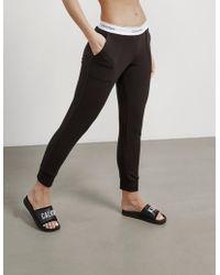 Calvin Klein Fleece Trousers Black
