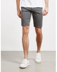 Emporio Armani Five Pocket Shorts Gray