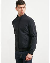 Pal Zileri - Mens Softshell Lightweight Jacket - Online Exclusive Black/black - Lyst