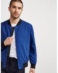 HUGO Padded Boris Bomber Jacket Blue/blue