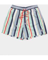 Tommy Hilfiger - Stripe Swim Shorts Multi - Lyst
