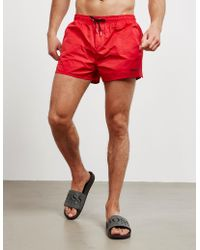 DSquared² Icon Swim Shorts - Red