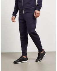 HUGO - Mens Dandler Cuffed Track Trousers Navy/navy - Lyst
