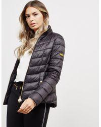 Barbour - Womens International Aubern Quilted Jacket Black - Lyst