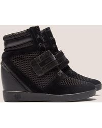 Armani Jeans - High Top Wedge Sneakers - Lyst