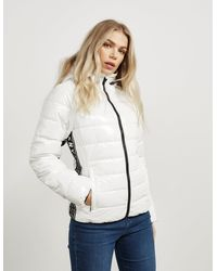 DKNY Sport Tape Gloss Jacket White