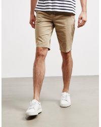 BOSS Schino Slim Shorts Sand/sand - Natural