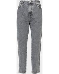 Calvin Klein Tape Dad Jeans Grey
