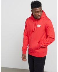 a0c589565fa140 Lyst - BBCICECREAM Billionaire Boys Club Arch Logo Hoodie Red in Red ...