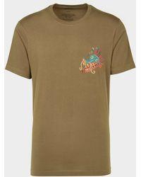 Maharishi Liberty Dragon T-shirt Green