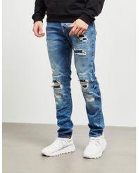 True Religion Rocco Biker Jeans Blue