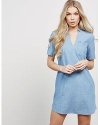 Tommy Hilfiger - Womens Shirt Dress - Online Exclusive Blue - Lyst
