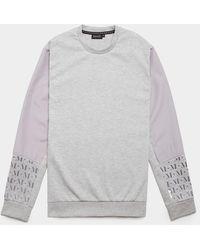 Mallet Mystic Reflective Sweatshirt - Grey