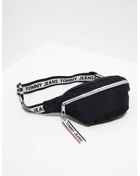 Tommy Hilfiger Logo Tape Waist Bag Black