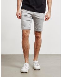 Replay Hype Chino Shorts - Online Exclusive Grey - Gray