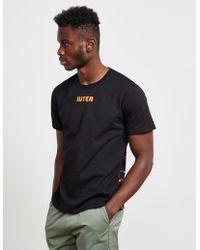 Iuter - Bengala Short Sleeve T-shirt Black - Lyst