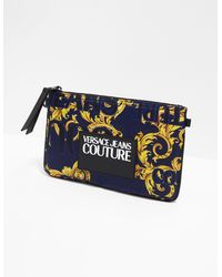 Versace Jeans Baroque Pouch Mlt/mlt - Blue