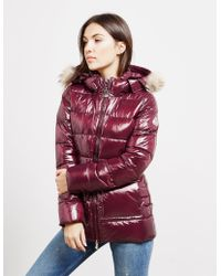 Pyrenex - Womens Authentic Shiny Jacket Red - Lyst