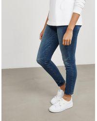 PAIGE - Womens Margot Jeans - Online Exclusive Blue - Lyst