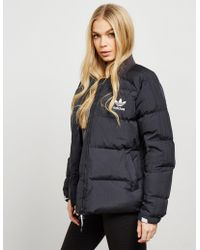 adidas Originals - Womens Down Padded Jacket Black - Lyst