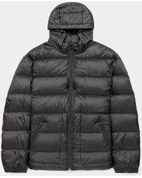 HUGO Balin Hooded Down Jacket Black