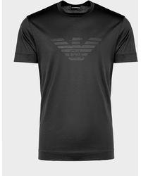 Emporio Armani - Merchandised Stitch Eagle T-shirt - Lyst