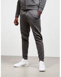 Polo Ralph Lauren - Mens Basic Fleece Track Trousers Grey - Lyst