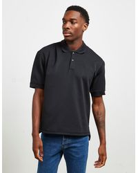 Fred Perry Made In Japan Short Sleeve Polo Shirt Black